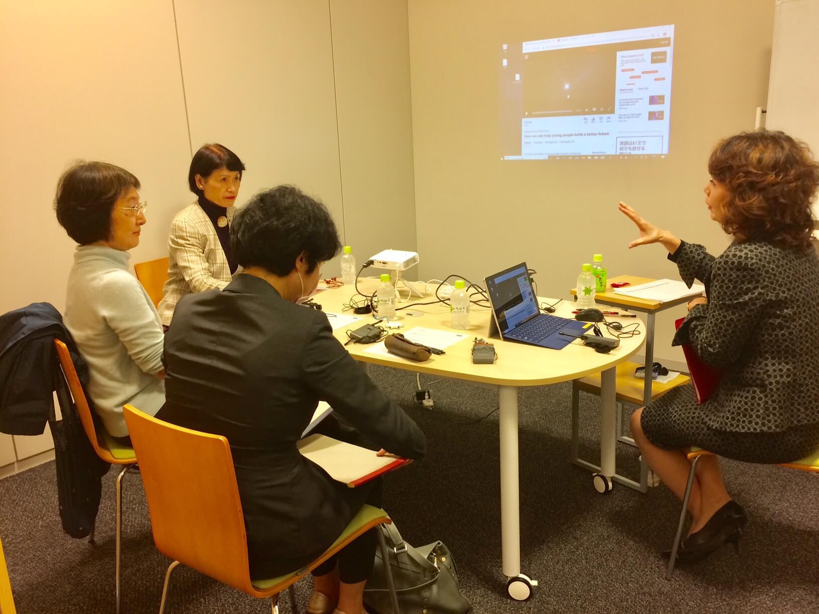 通訳トレーニング講座を開講しました。