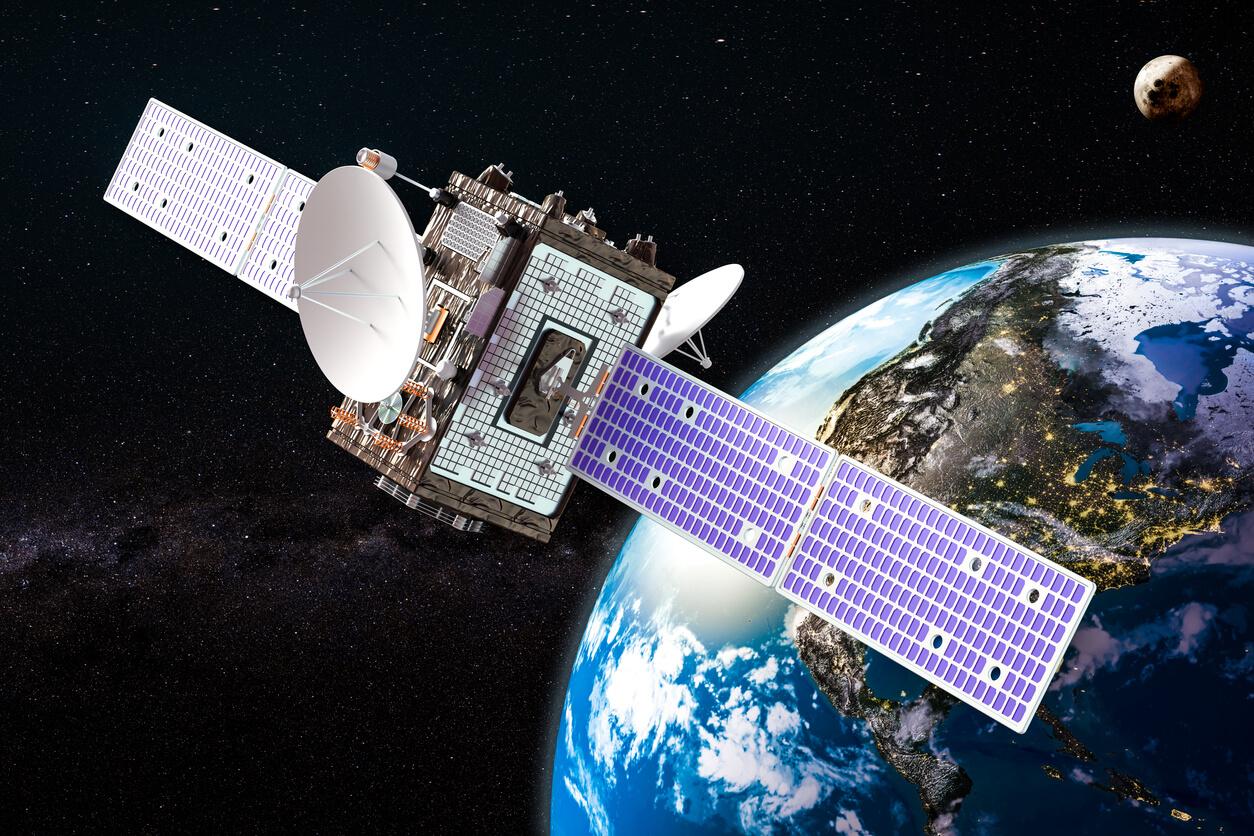 新衛星サービス開始記念式典
